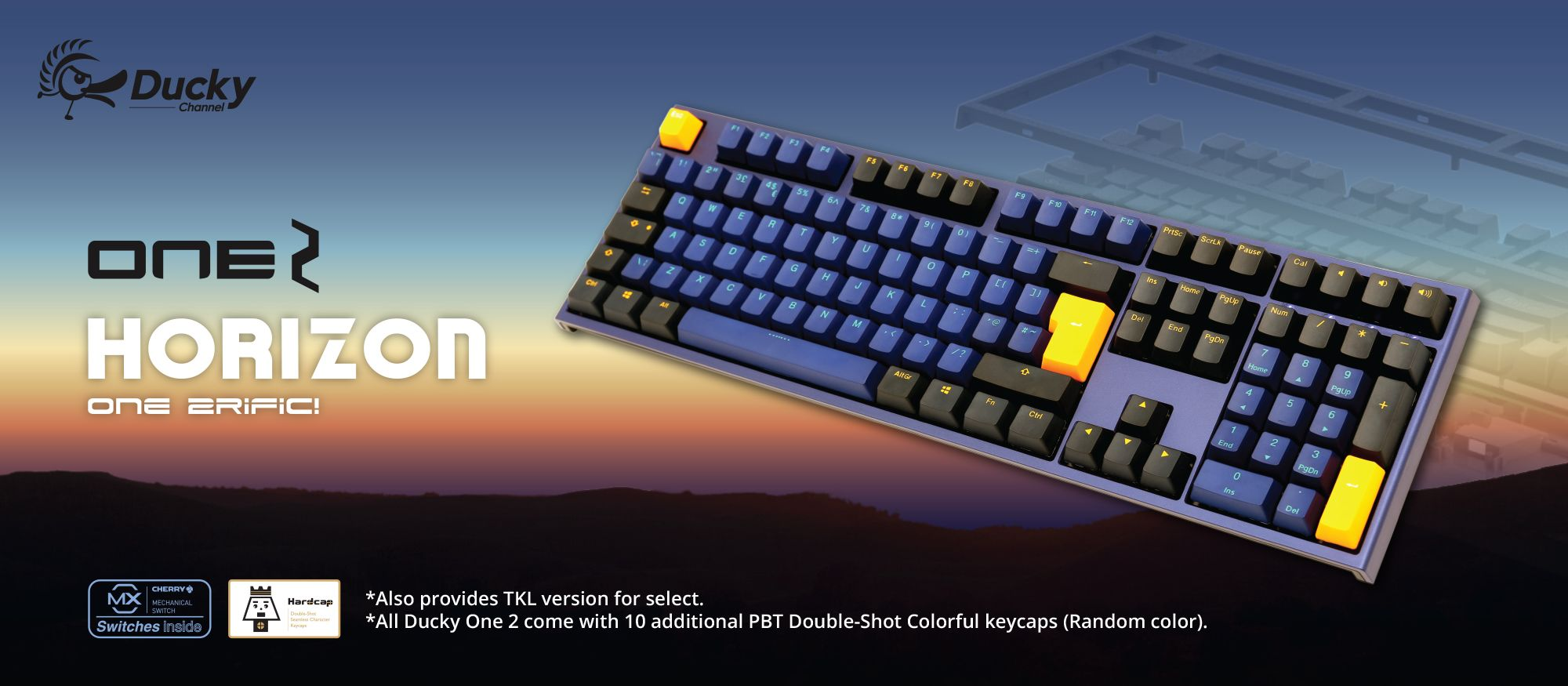 Ducky One2 Horizon Full Size